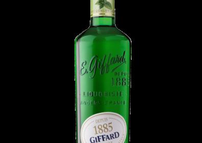 Giffard Mint Liqueur (Menthe Verte) Dark Green Classic : 700 ml