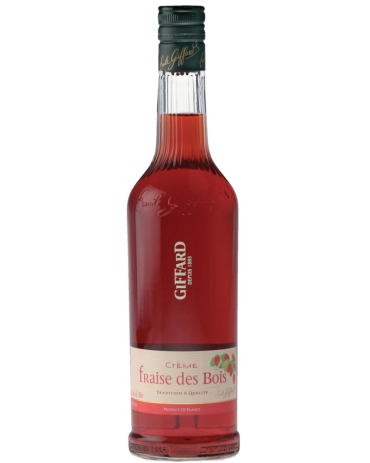 Giffard Strawberry Liqueur (Wild – Fraise Bios) Creme de Fruits : 700 ml