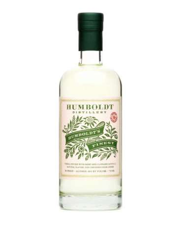 Humboldt's Finest Hemp-Infused Vodka