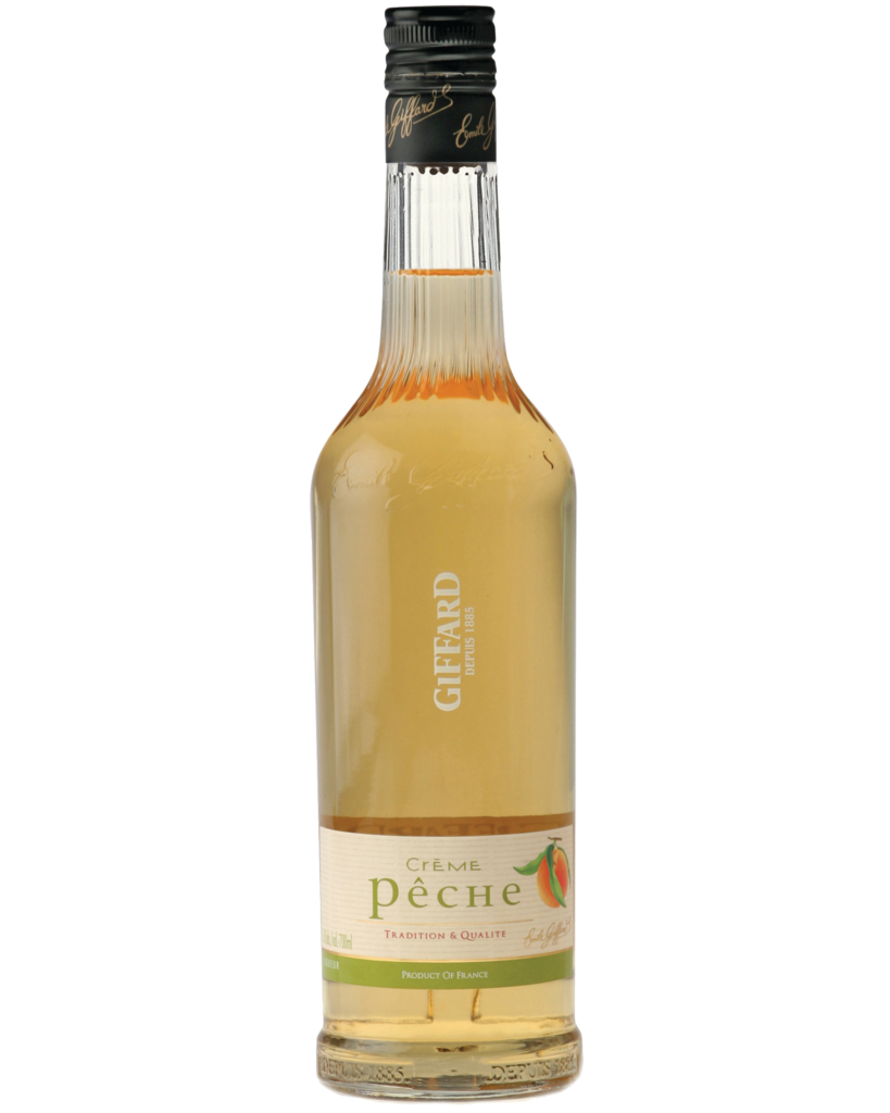Giffard Peach Liqueur (Peche) Creme de Fruits : 700 ml