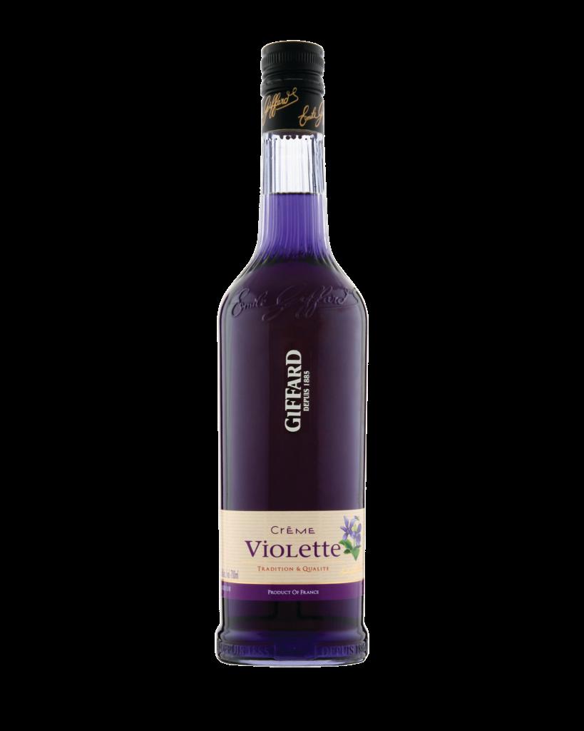 Giffard Violet Liqueur (Violette) Creme de Fruits : 700 ml