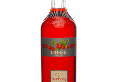 Giffard Cranberry Syrup : 1000 ml