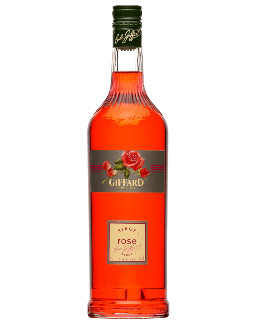 Giffard Rose Syrup : 1000 ml