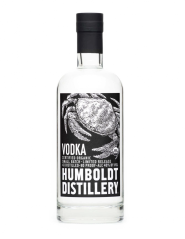 Humboldt Distillery Organic Vodka