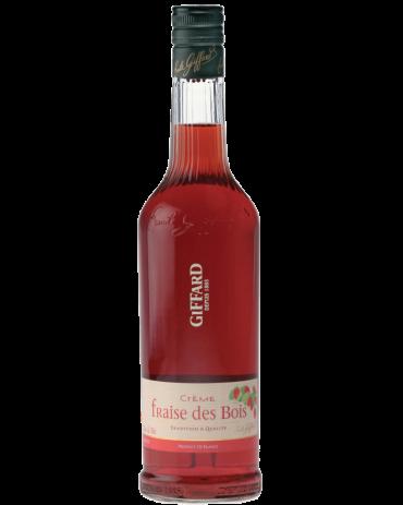 Giffard Strawberry Liqueur (Wild – Fraise Bios) Creme de Fruits : 700 ml