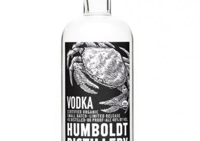 Humboldt Distillery Organic Vodka